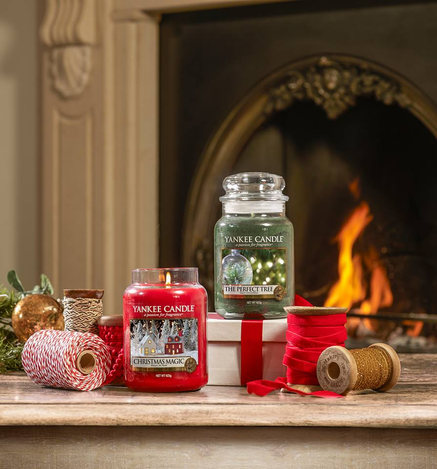 Moment cocooning avec Yankee Candle